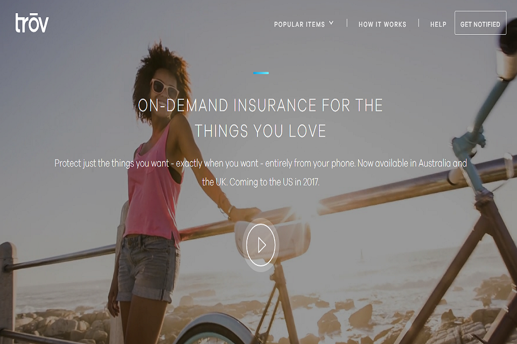 Startup Insurance Trov Picture