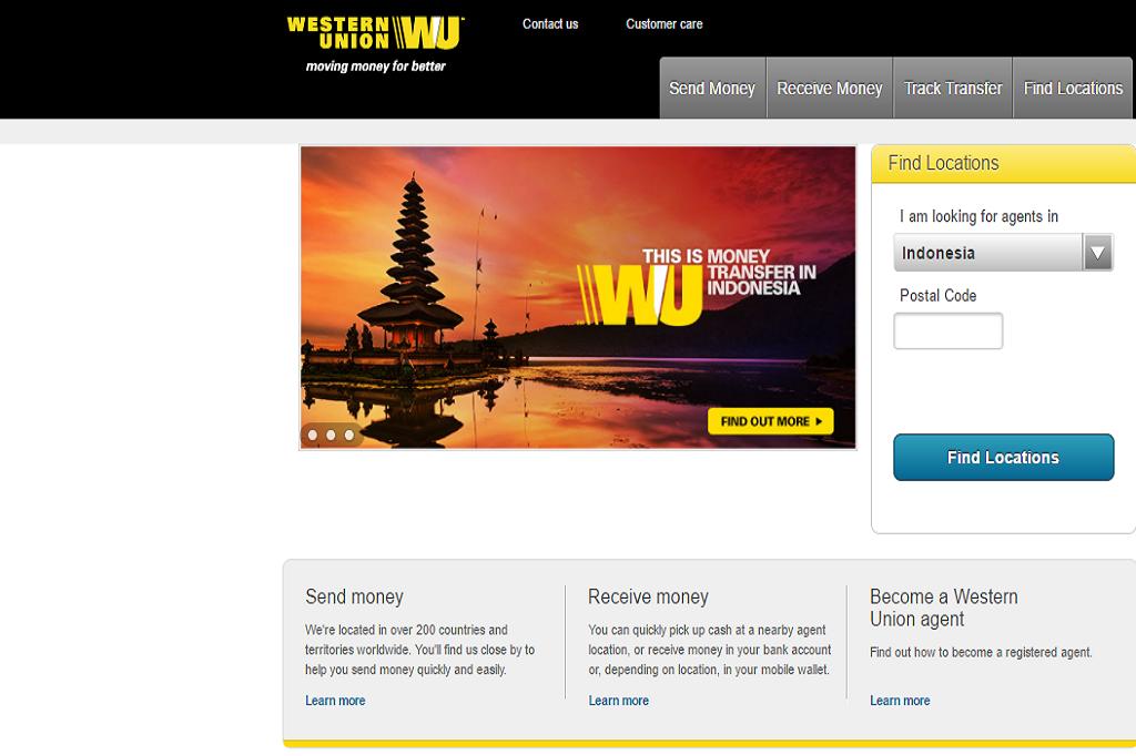 Western Union Transfer Uang Hitungan Menit Dunia Fintech