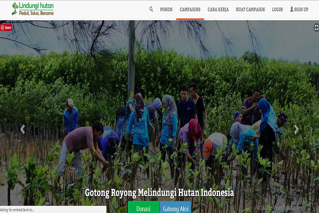 Lindungi Hutan Indonesia picture