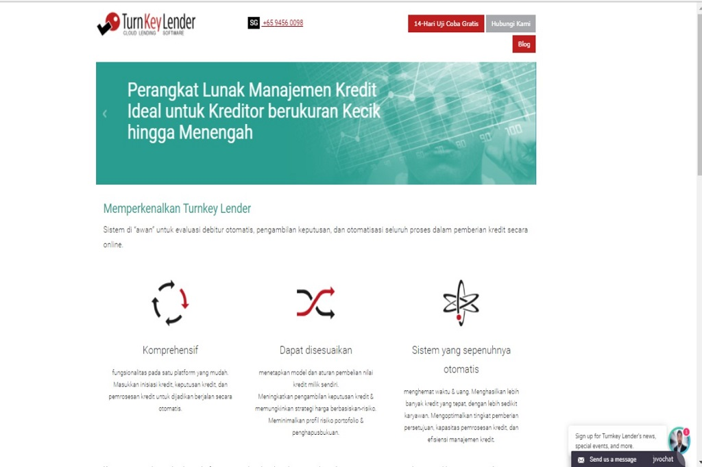 Turnkey Lender Sediakan Platform Pinjaman Online Dunia Fintech