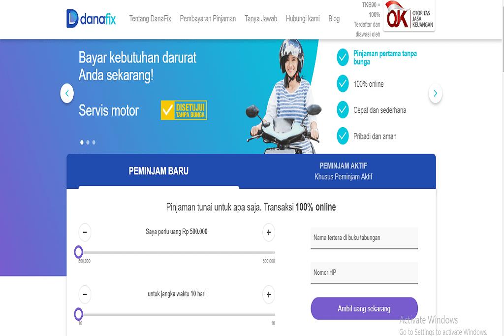 Danafix Pilihan Pinjaman Online Untuk Kebutuhan Darurat Dunia