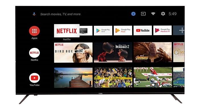 Smart TV Dibekali Teknologi AI