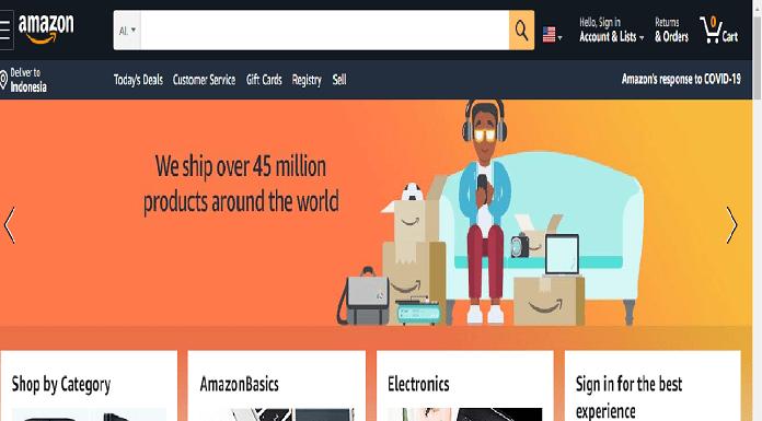 Amazon Rekrut Ratusan Ribu Karyawan
