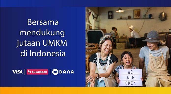 Kolaborasi Visa dan Dana