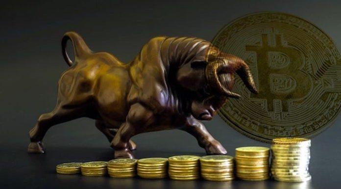 harga Bitcoin naik