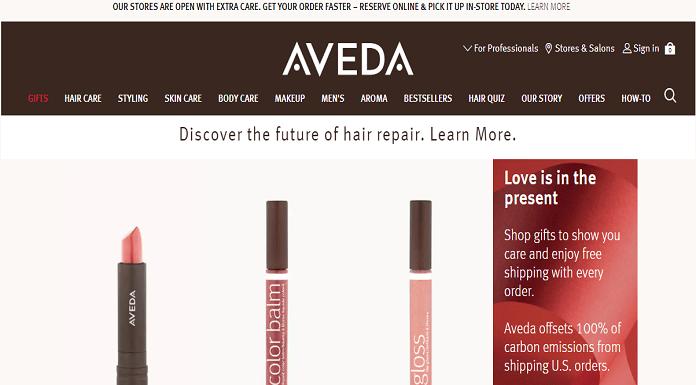 Perusahaan Kosmetik Aveda