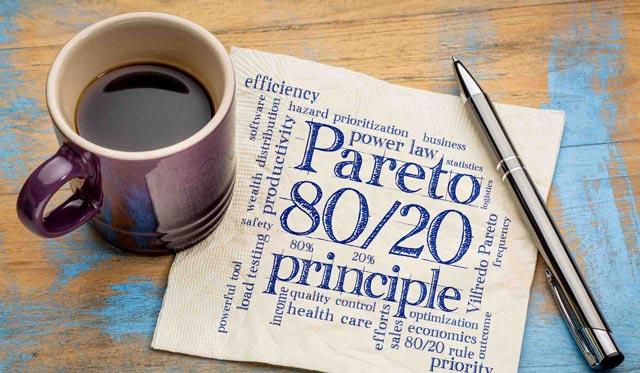 Cara Menerapkan Prinsip 80/20 Pareto